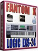 FANTOM X SAMPLES APPLE LOGIC PRO-TOOLS EXS-24 25GB 24-BIT