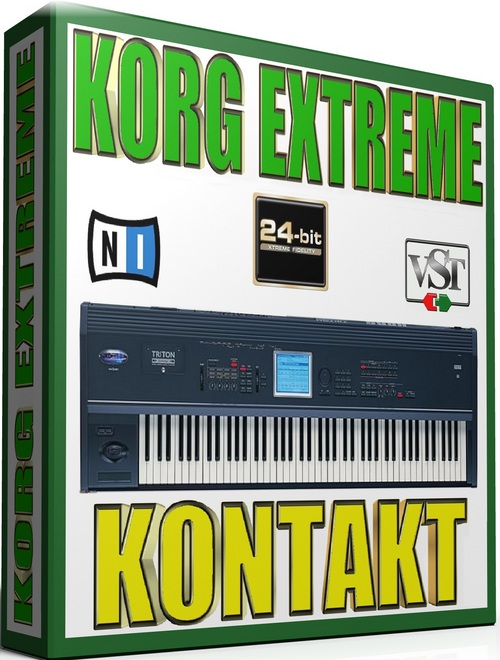 Product picture KORG EXTREME SAMPLES KONTAKT NATIVE  65GB *24-BIT*