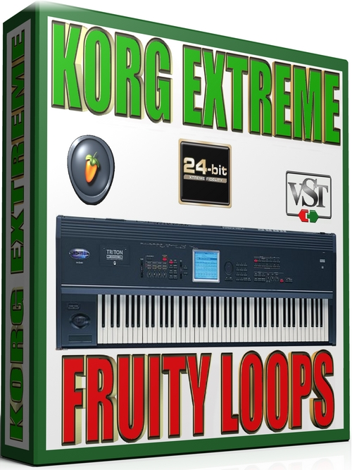 Product picture KORG EXTREME SAMPLES FRUITY LOOPS  65GB *24-BIT*