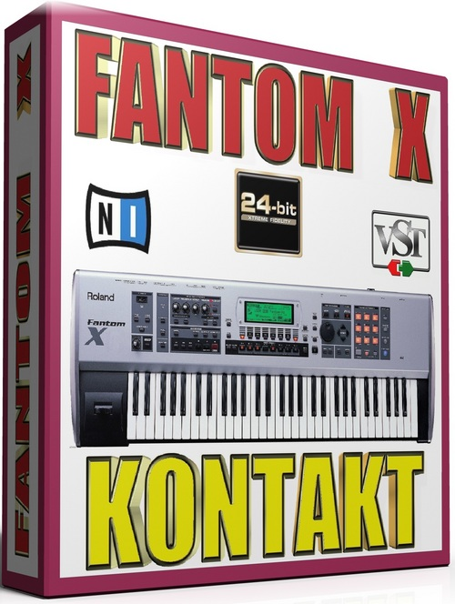 Product picture ROLAND FANTOM X SAMPLES FRUITY LOOPS 25GB *24-BIT*