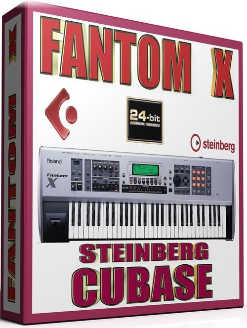 Product picture ROLAND FANTOM X SAMPLES STEINBERG HALION FXP 25GB *24-BIT*